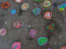 Ben Wilson - chewing gum art